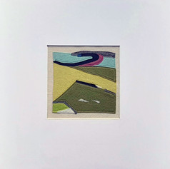Fenit 3 - Fabric collage (sewn)