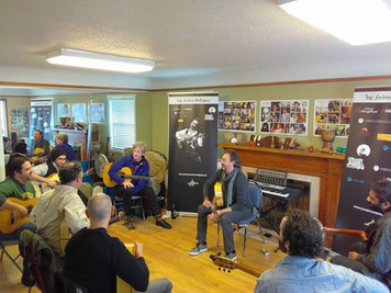 José Antonio Rodríguez flamenco guitar workshop - Presented by Nat Hulskamp