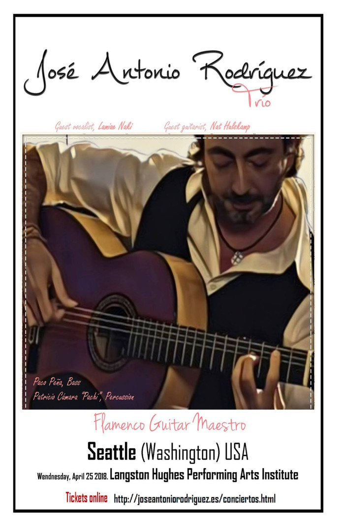 José Antonio Rodríguez Flamenco Concert - Presented by Nat Hulskamp