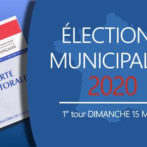 Municipales 2020                     Soyons électeurs-acteurs !