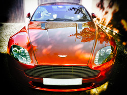 Aston in the sun