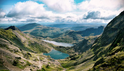 Snowdon from the top