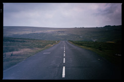 Road to Dartmoor Prison
