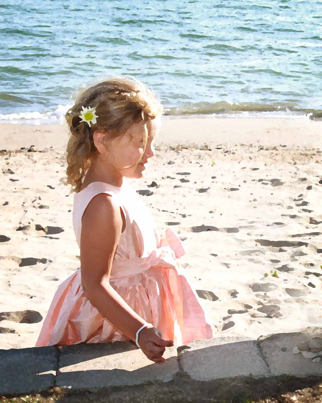 Charlevoix Flower Girl