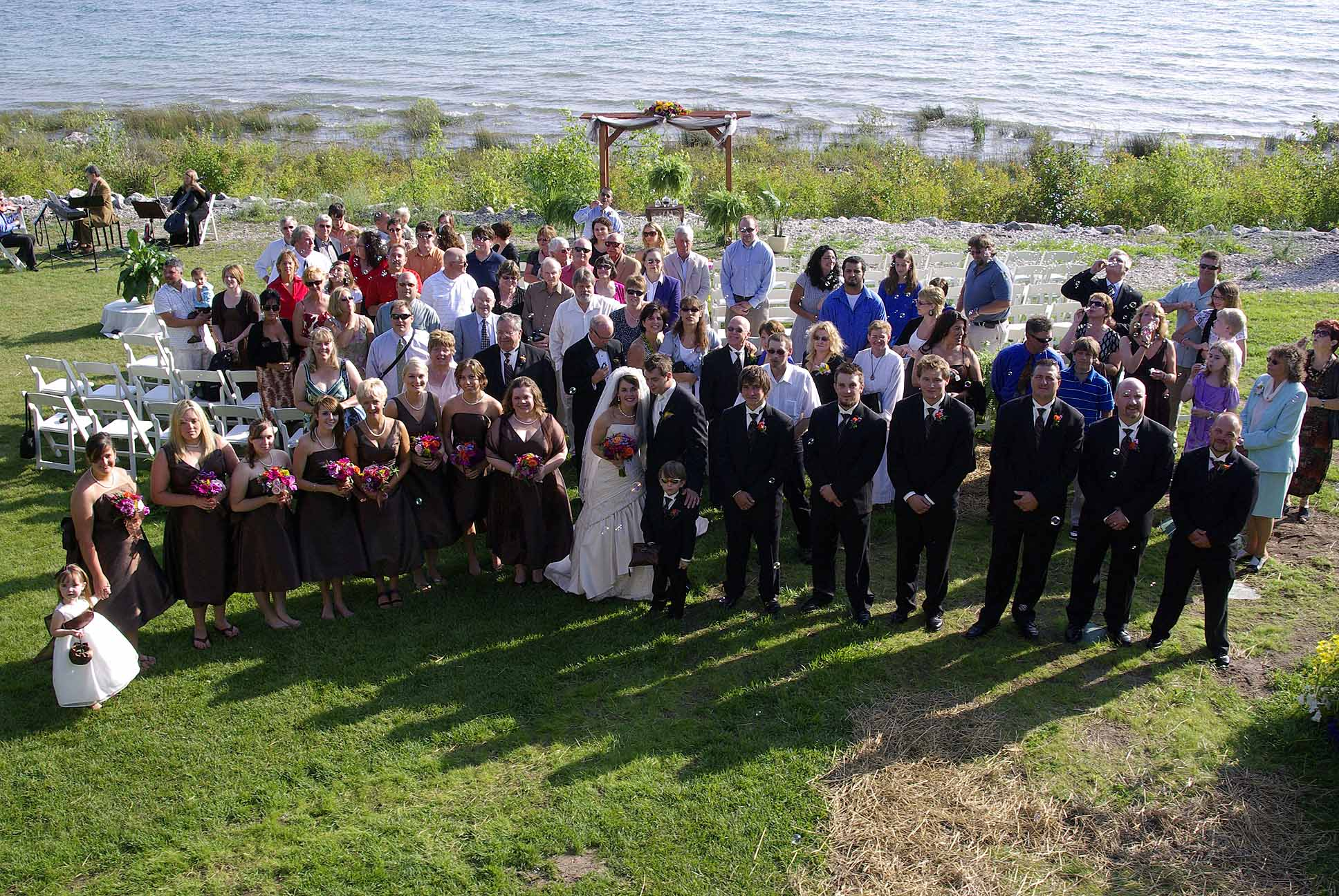 Wedding at the Headlands Mackinaw II
