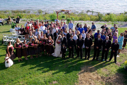 Wedding at the Headlands Mackinaw II