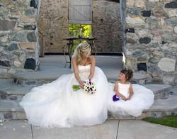 Bride & Flower Girl Castle Farms