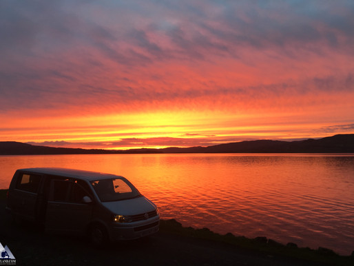 Mull Evening Tour - Stunning Sunset!