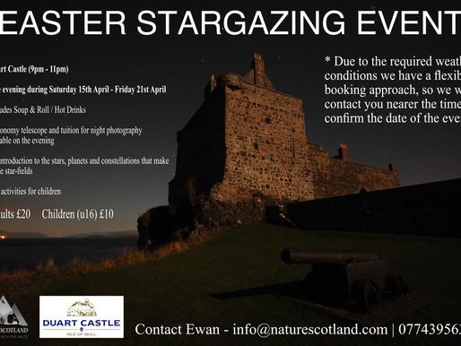 Easter Stargazing Event 2017
