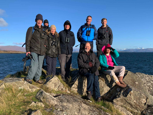 THE ISLE OF MULL WILDLIFE EXPEDITION WITH IOLO WILLIAMS