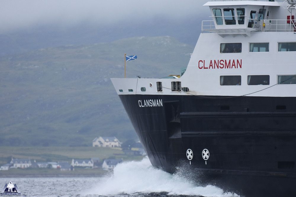 calmac, the clansman, isle of mull, mull, hebrides, nature scotland,