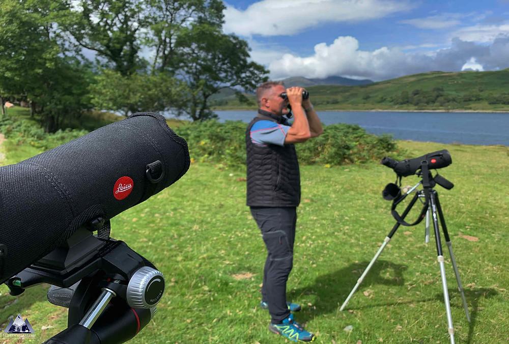Leica, Iolo Williams, Nature Scotland,