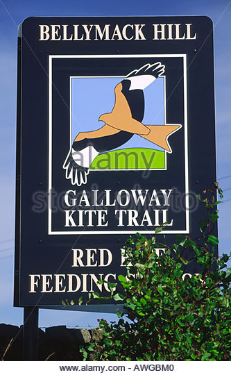 galloway-red-kite-trail-sign-awgbm0