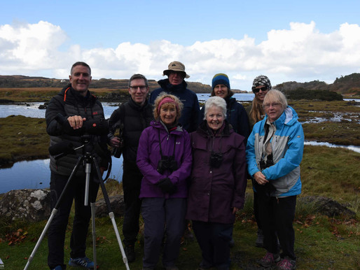 The Isle of Mull Autumn Wildlife Experience with Iolo Williams - Day 2 & 3...