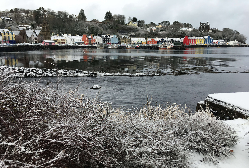 Tobermory, Winter, Mull, Mull Winter, Isle of Mull,