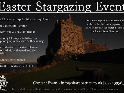 EASTER STARGAZING EVENT