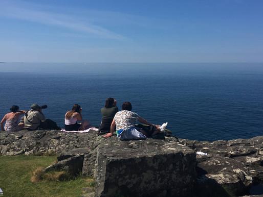 Whalewatching...