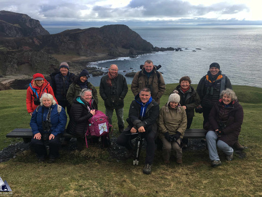 The Isle of #Islay Wildlife Experience with Iolo Williams
