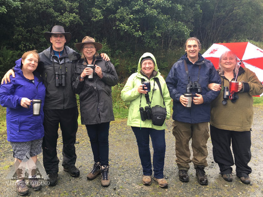 The Isle of Mull Wildlife Experience with Iolo Williams 2016