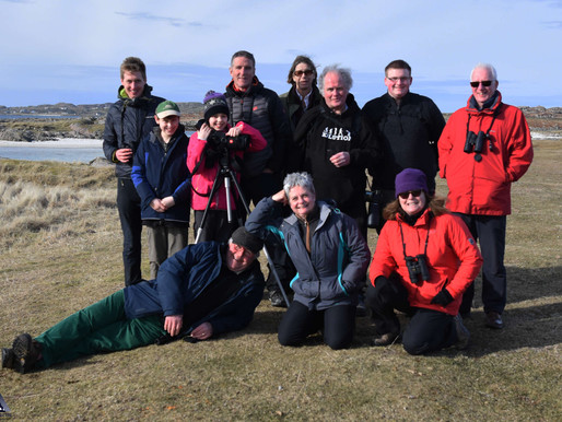 The Isle of Mull Wildlife Experience with Iolo Williams - day 2 & 3