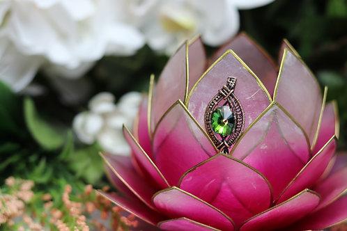 Swarovski Multi-colored crystal pendant
