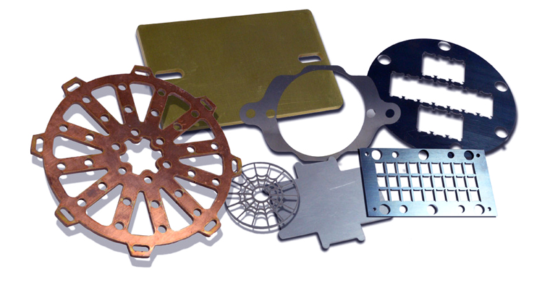Thin metal sheet laser cut