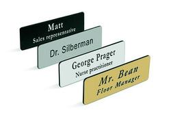Custom color Name Plate Nameplate