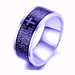 Laser etch steel  ring black