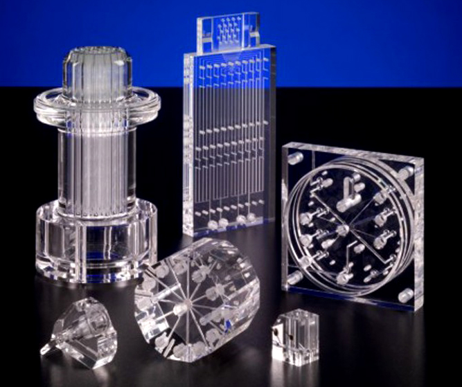 Clear Acrylic CNC Machining