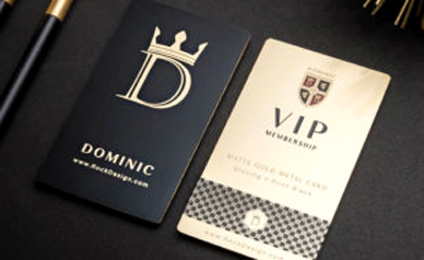 Luxury Metal Business Card