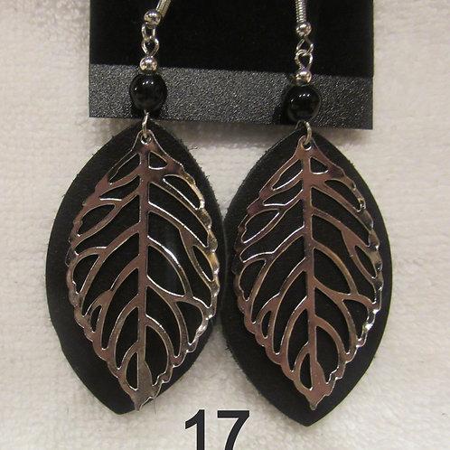 Genuine Bison Leather Earrings