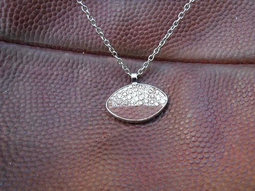"20"" Necklace (women) - Football Leather"