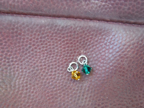 Crystal Charms (pair)