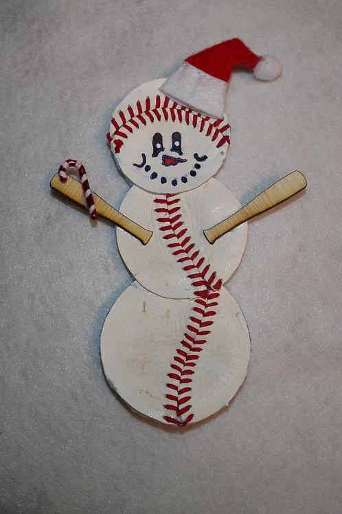 "Exclusie Ornament - snow""BALL""man ©"