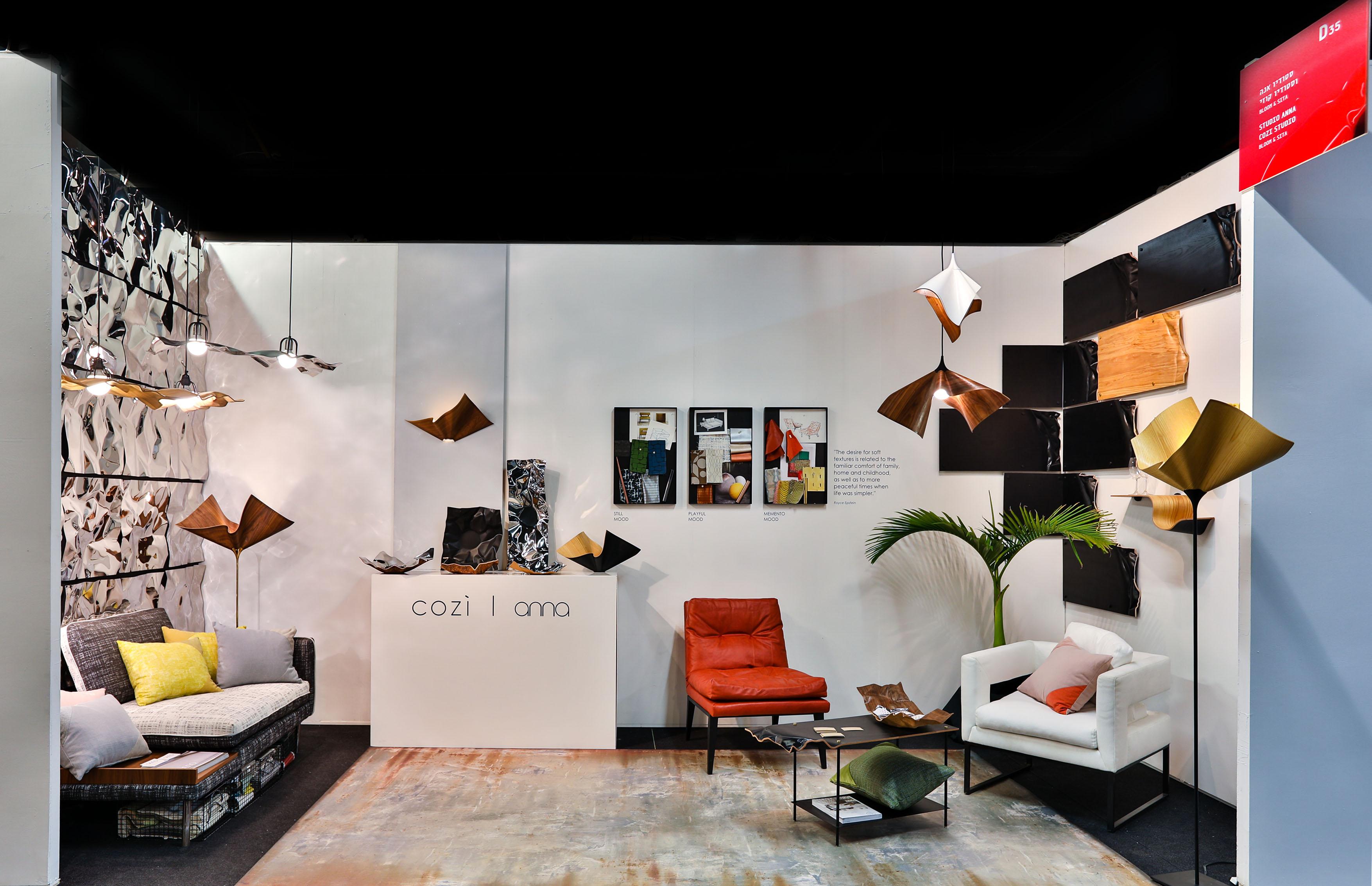 Exhibition Fresh Paint 2018 Cozi Studio Lighting Fixtures