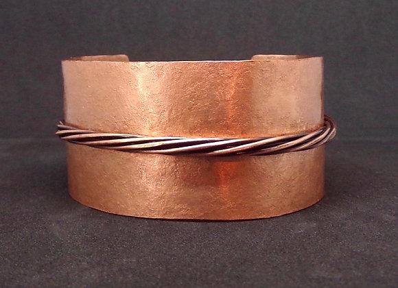 Copper Rope Cuff