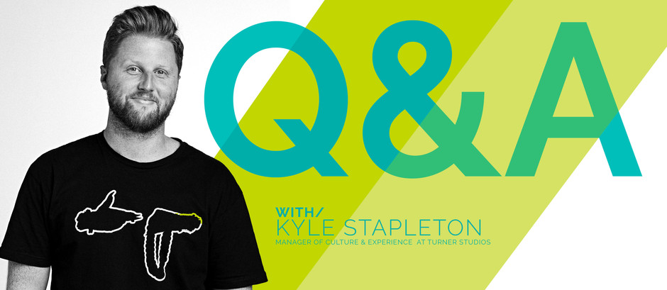 Q&A WITH/Kyle Stapleton, Manager of Culture & Experience at Turner Studios || The Corporate Vibe