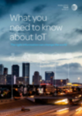 AT&T IoT report cover