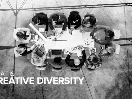What is creative diversity? And why you need to live by it.