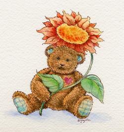Sunflower bear
