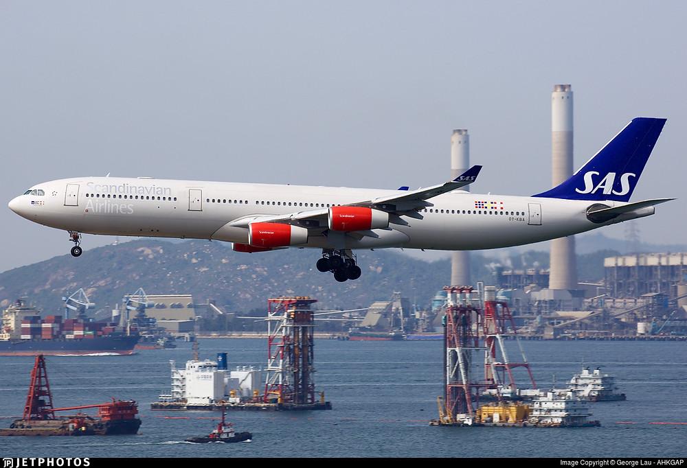 Scandinavian Airlines A340-300