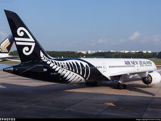 Air New Zealand adds Boeing 787 Hong Kong service from late November 2018