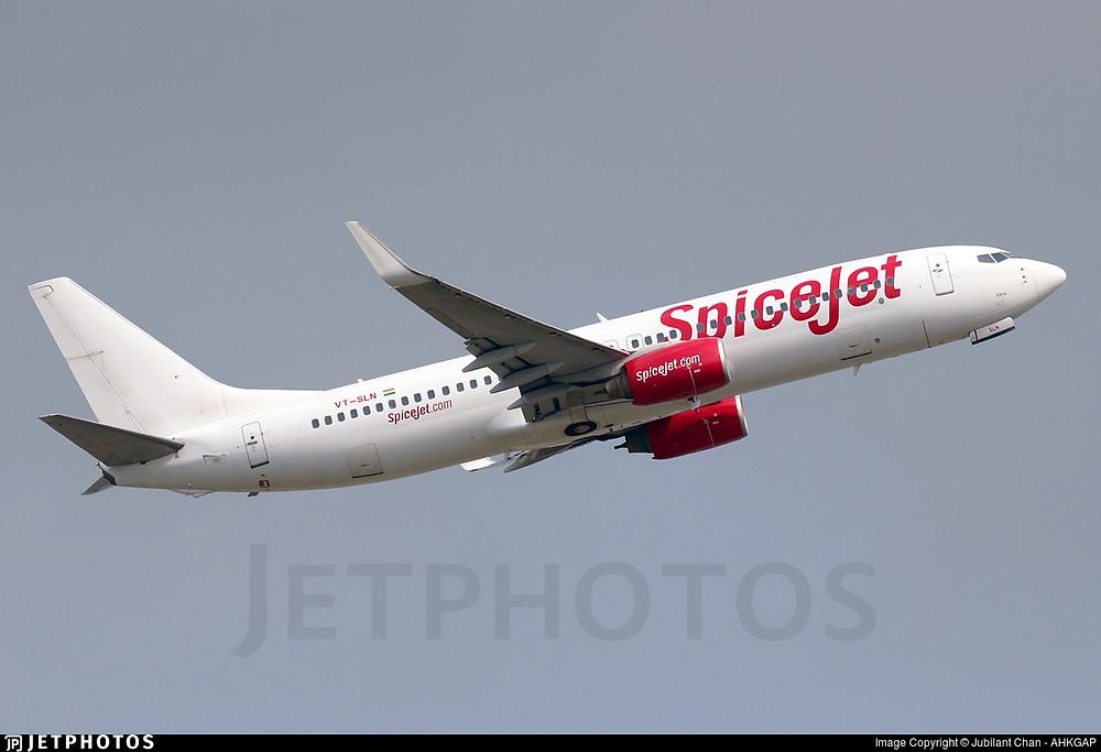 SpiceJet B737-800