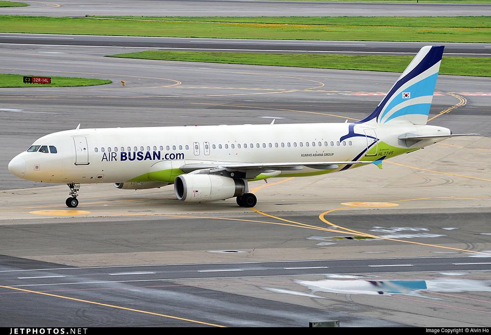 Air Busan A320