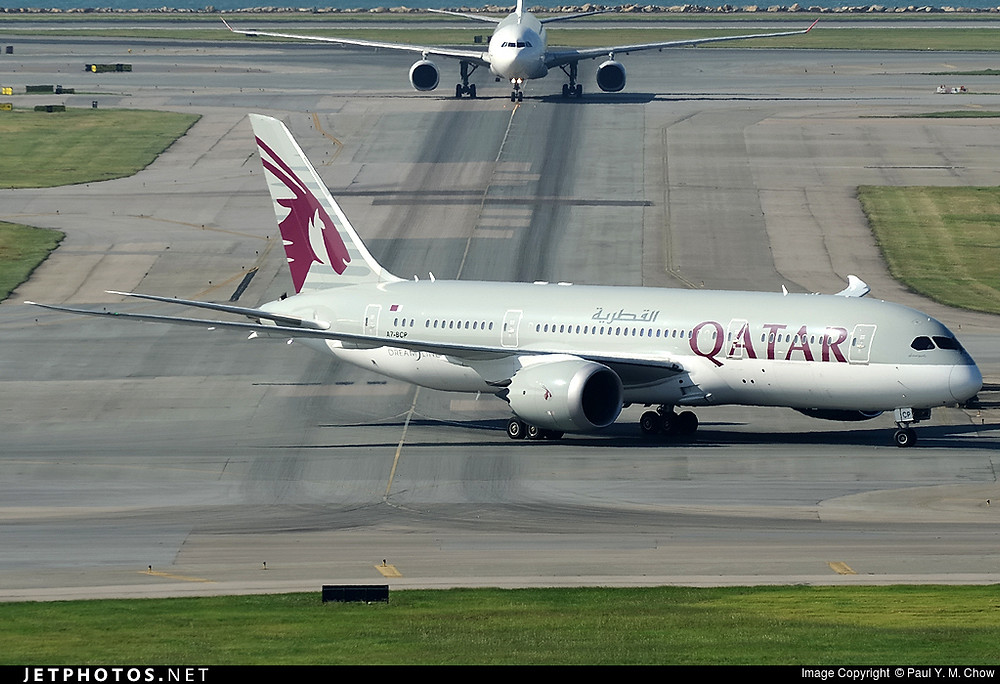 Qatar Airways B787-8