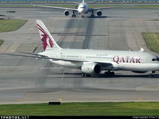 Qatar Airways W17 Hong Kong aircraft changes