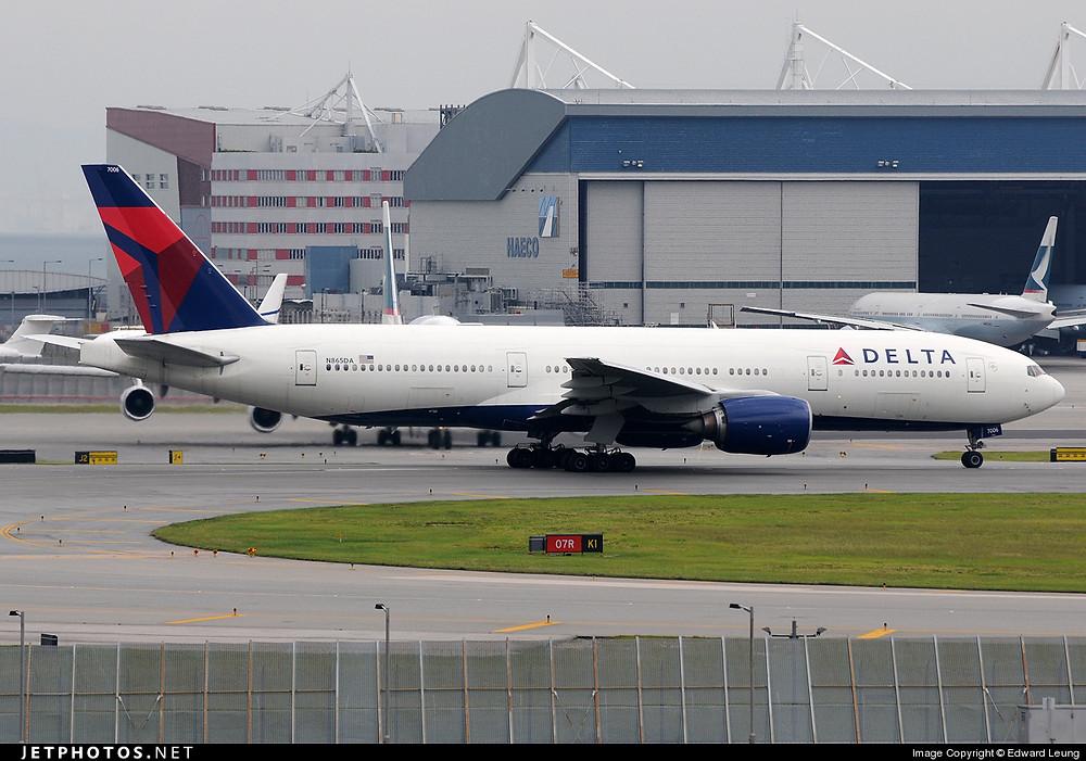 Delta Air Lines B777-200ER