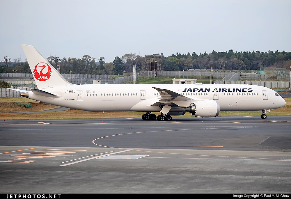 Japan Airlines B787-900