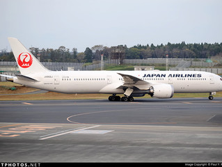 JAL W17 Hong Kong service changes
