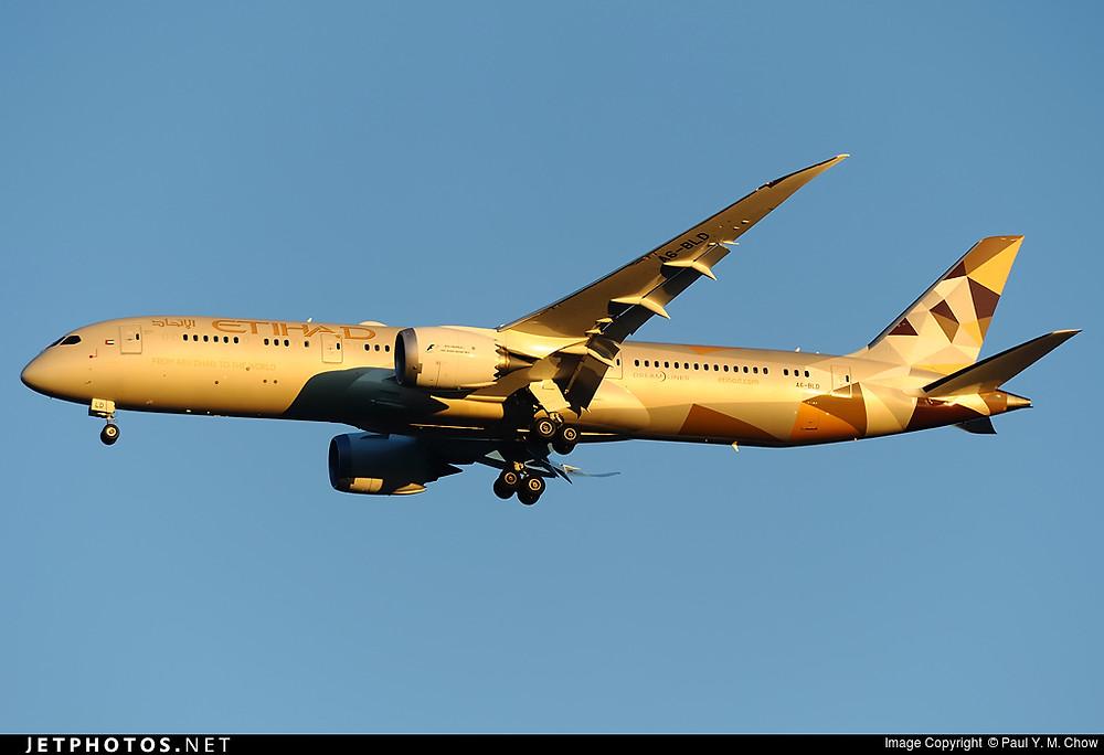 Etihad Airways B787-9